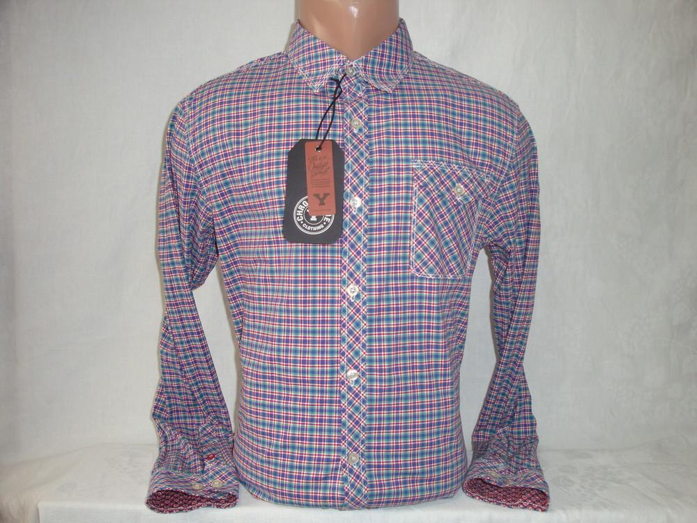 Мужская рубашка с длинным рукавом YChromosome. Разные цвета. фото №1