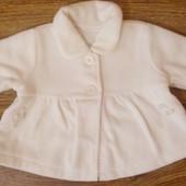 пальто тонке для маленької модниці 6міс george