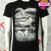 Мужская футболка TM Valimark (Валимарк) 17288 s m l xl черная