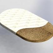 BaggyBed матрас на кроватку кокос+флексовойлок