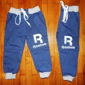 Спортивні штани для хлопчиків Рібок! 2-4 років!