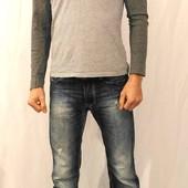 1141 Серая футболка с длинным рукавом Native Youth