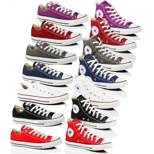 Кеды converse, конверсы  разные цвета, 35-46 фото №1