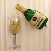 Воздушные шары. Шампанское. Набор 99 см высота!!!