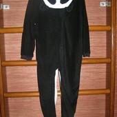 Пижама флисовая, мальчику на 5-6 лет, рост 110-116 см