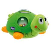 Музыкальная игрушка черепаза-забавница-неваляшка, Chicco