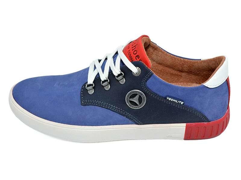 Мужские мокасины Fart 27 Club Shoes синие фото №1