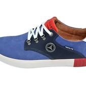 Мужские мокасины Fart 27 Club Shoes синие