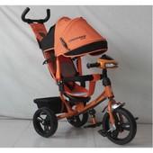 Трехколесный велосипед Crosser One T1 фара (eva колеса)