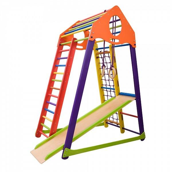 Детский спортивный комплекс bambinowood color фото №1