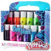 Дох-винчи набор мягкого пластилина в картриджах 12 цветов doh-vinci (A8909)