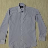 Симпатичная рубашка в мелкую голубую полоску Cedar Wood State, р.50