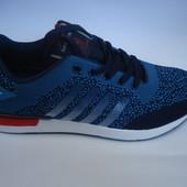 Мужские кроссовки копия adidas sayota 41-46р. синие