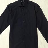 Стильная черная рубашка Tomas Nash, р.48, новая