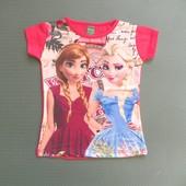Детская футболка Эльза и Анна Frozen Beebaby (Бибеби)