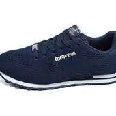 Мужские кроссовки Supo Energy Sport 1737 темно-синие