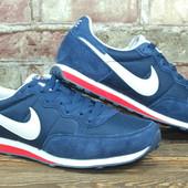 Кроссовки мужские Nike натуральный замш