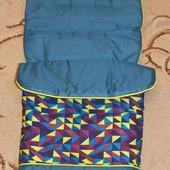 Спальный мешок, конверт, чехол на ножки в коляску   BabiesRus