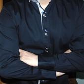 Стильная брендовая нарядная рубашка  Lord (лорд)л-хл .
