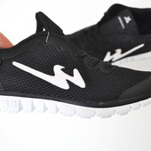 Кроссовки Bayota Free Run 3.0 black white