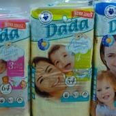 Подгузники Dada extra soft размеры 3, 4, 5 Польша памперсы Дада екстра софт