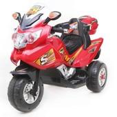 Электромобиль Трицикл (T-722 red)