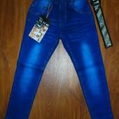 Штаны джинсы детские с поясом распродажа !116,122,128,134,140 рост