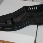 Распродажа , туфли лето, прошиты, кожа натуральная, с 40-45р