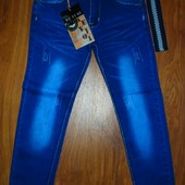 джинсы детские с поясом распродажа !134,140,146,152,158,164 рост