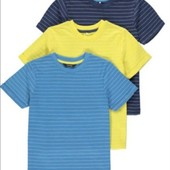 Набор футболок George, 3-4 и 5-6 лет