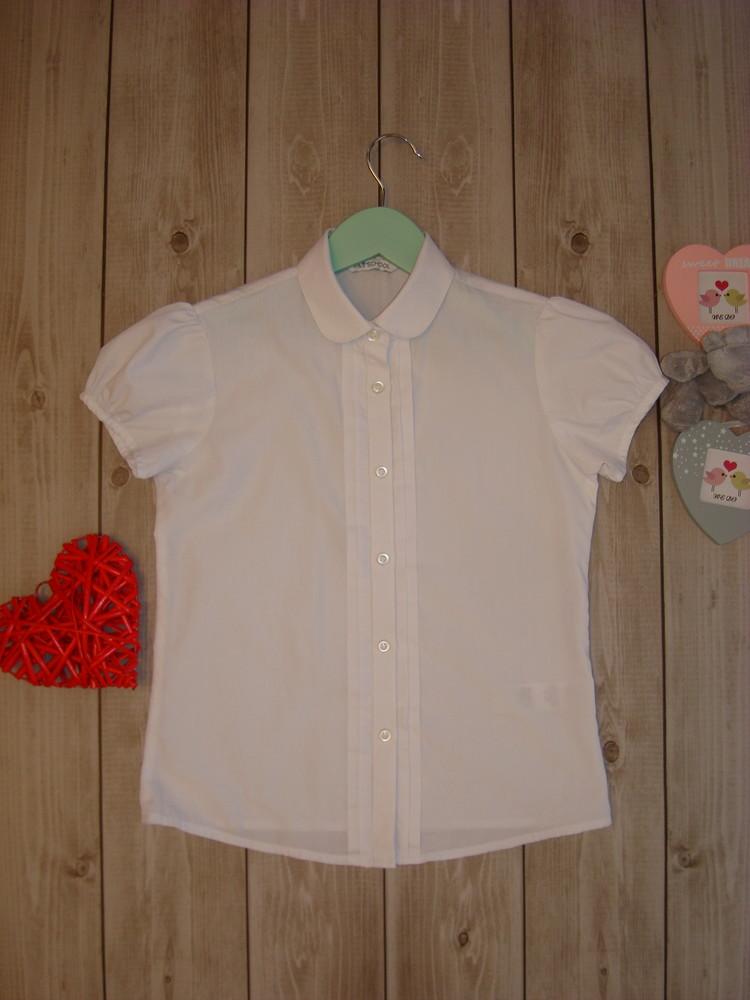 Рубашка\блуза для школы 8-10 лет marks&spencer фото №1