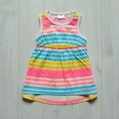 Яркое летнее платьице для маленькой принцессы. F&F. Размер 0-1 месяц, будет дольше