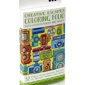 Crayola Набор для творчества creative escapes aged up coloring folio with pencils