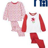 Mothercare 2 пижамы 18-24 мес 92 см