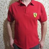Разные поло Ferrari, размеры M-XXL.