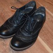 Закрытые туфли, броги 37 р., 24.3 см
