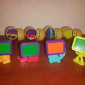 """Киндер (kinder) """"Животные с мониторами"""" и """"Роботы с мониторами"""" продажа-обмен"""