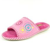 100-KS-023 и 004 два цвета,  Женские домашние уютные тапочки, ТМ Sanipur, синий, розовый, р-ры 36-41