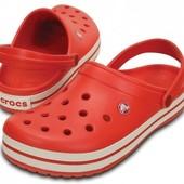 crocs Unisex Crocband Clog, 8ка америка оригинал кроксы