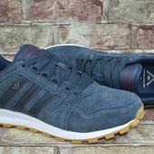 Мужские кроссовки Adidas Адидас кожа (нубук)