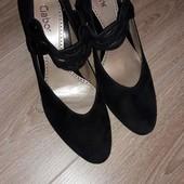 Красивые туфли Gabor 6,5 стелька 26,5