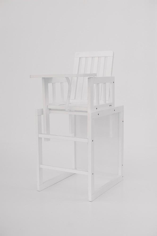 Детский деревянный стульчик трансформер для кормления фото №1