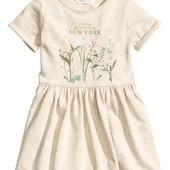 Платье H&M размер 1,5-2 , 2-3