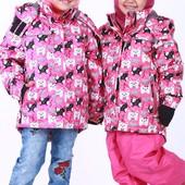Зимний комплект: раздельный, куртка и комбинезон, термо на девочку. Лучше Lenne. Теплый