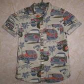 рубашка тениска  Mark Spencer  4-5 лет 110 см 100% котон
