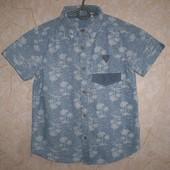 рубашка тениска  TU 7 лет 122 см  100% котон