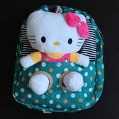 Детский рюкзак со съёмной игрушкой hello kitty (3 цвета)