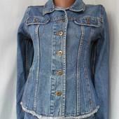 куртка джинсовая женская Gloria Jeans. Размер S/XS