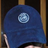 Стильная фирменная спортивная  кепка UEFA.57-58
