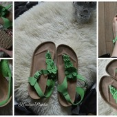 Кожаные ортопедические сандали Next,р-р 39